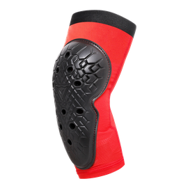 SCARABEO ELBOW GUARDS BLACK/RED- Promotions bici