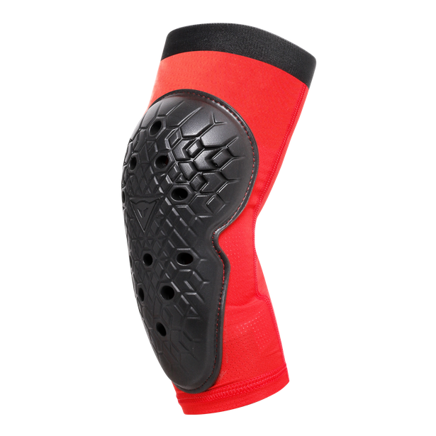 SCARABEO ELBOW GUARDS BLACK/RED- Promozioni bici