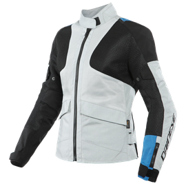 AIR TOURER LADY TEX JACKET GLACIER-GRAY/PERFORMANCE-BLUE/BLACK