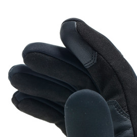 COIMBRA UNISEX WINDSTOPPER GLOVES BLACK/BLACK- Textil