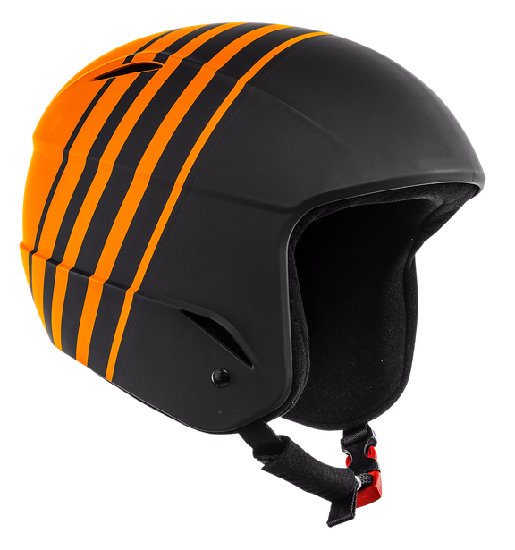 D-RACE - KID STRETCH-LIMO/RUSSET-ORANGE- Helmets