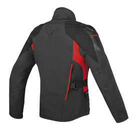 D-CYCLONE GORE-TEX® JACKET BLACK/BLACK/RED- Jackets