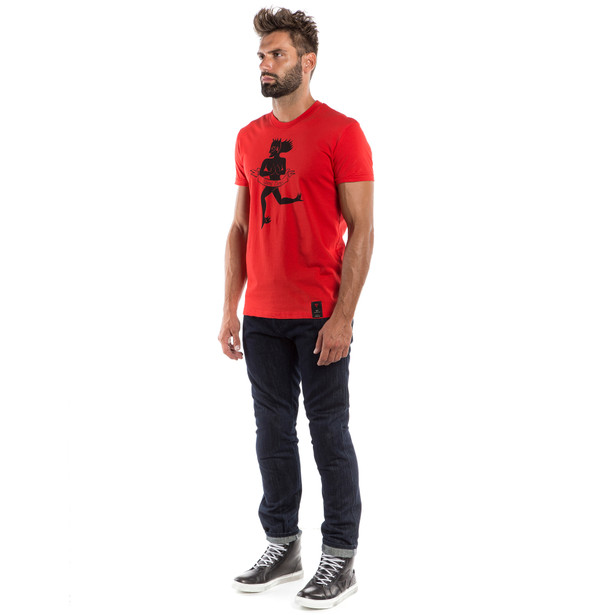 ESSENCE T-SHIRT RED- Casual Wear