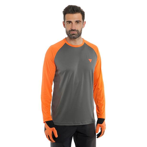 HG TSINGY LS DARK-GRAY/ORANGE- undefined