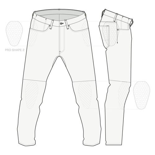 graphic pants man 28-44