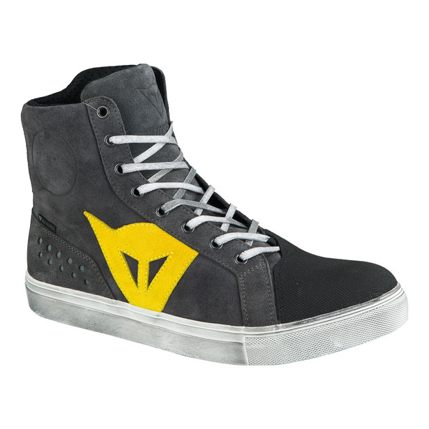 STREET BIKER D-WP® ANTHRACITE/YELLOW- D-Wp®
