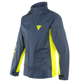 STORM 2 UNISEX JACKET BLACK-IRIS/FLUO-YELLOW
