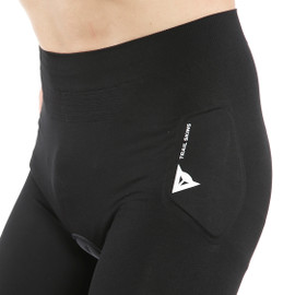 TRAIL SKINS SHORTS BLACK- Safety Shorts
