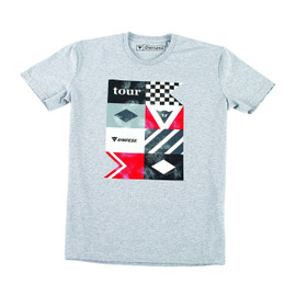 TOUR T-SHIRT GREY-MELANGE