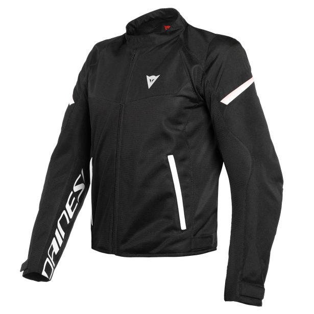 BORA AIR TEX JACKET BLACK/WHITE- Textile