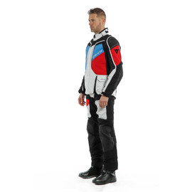 D-EXPLORER 2 GORE-TEX® JACKET GLACIER-GRAY/BLUE/LAVA-RED/BLACK- Gore-Tex®