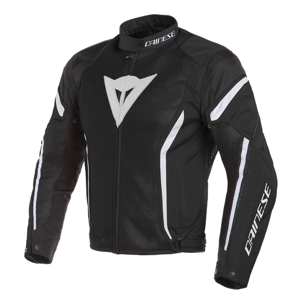 AIR CRONO 2 TEX JACKET BLACK/BLACK/WHITE- Textil