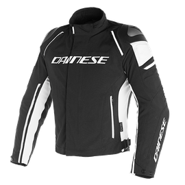 RACING 3 D-DRY JACKET BLACK/BLACK/WHITE
