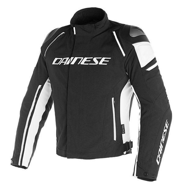 RACING 3 D-DRY JACKET BLACK/BLACK/WHITE- D-Dry®