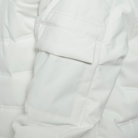 RIBBO PADDING JKT - KID LILY-WHITE- Scarabeo