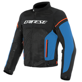 AIR FRAME D1 TEX JACKET BLACK/LIGHT-BLUE/FLUO-RED- Textile