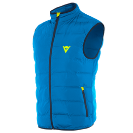 DOWN-VEST AFTERIDE PERFORMANCE-BLUE