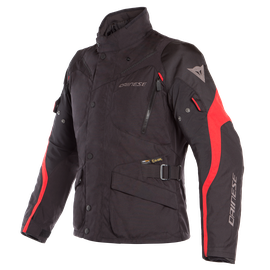 TEMPEST 2 D-DRY JACKET BLACK/BLACK/TOUR-RED