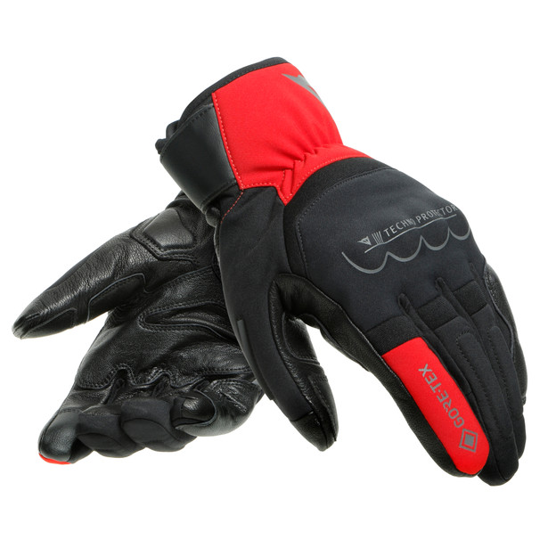 THUNDER GORE-TEX® GLOVES BLACK/RED- Gants
