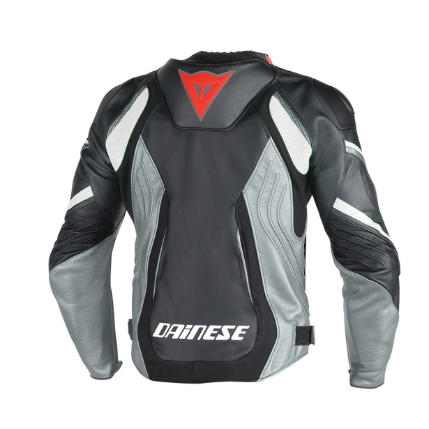 SUPER SPEED D1 PERF LEATHER BLACK/ANTHRACITE/WHITE- Jackets