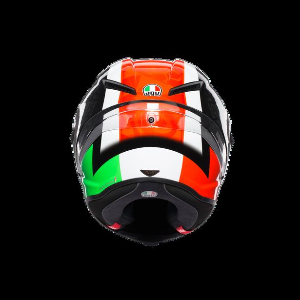 CORSA R MULTI ECE DOT - CASANOVA BLACK/RED/GREEN - Corsa R