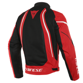 AIR CRONO 2 TEX JACKET BLACK/RED/WHITE- Textil