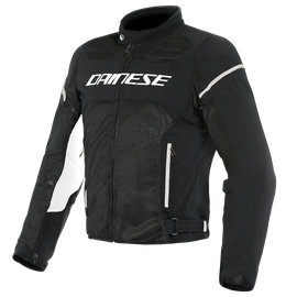 AIR FRAME D1 TEX JACKET BLACK/BLACK/WHITE- Tessuto