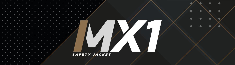 mx1 safety jacket logo