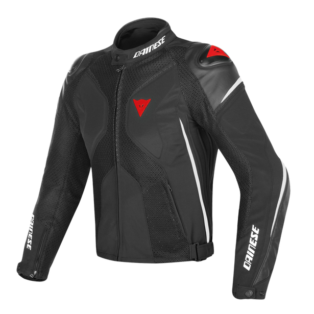 SUPER RIDER D-DRY JACKET BLACK/WHITE/RED- D-Dry®