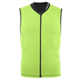 AUXAGON VEST ACID-GREEN/STRETCH-LIMO- Espalda