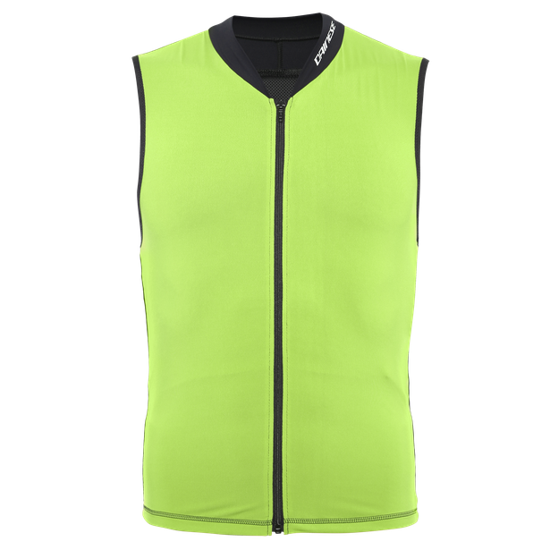 AUXAGON VEST  ACID-GREEN/STRETCH-LIMO- Schiena