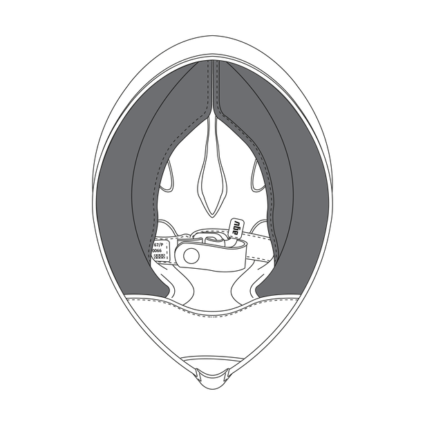 AGV CHEEK PADS WINTER PISTA GP/CORSA (L) - undefined