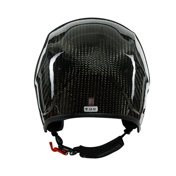 GT CARBON WC HELMET CARBON/RED-LOGO- Casques