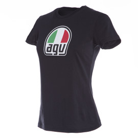 AGV LADY T-SHIRT BLACK