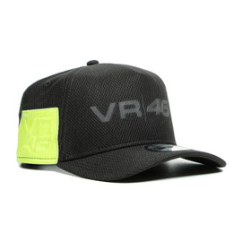 DAINESE VR46 9FORTY CAP BLACK/FLUO-YELLOW