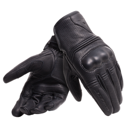 CORBIN AIR UNISEX GLOVES BLACK- Cuir