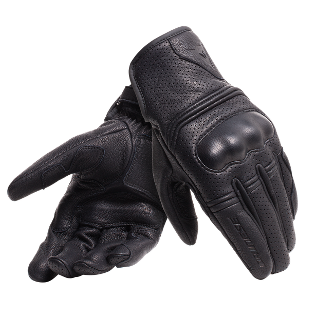 CORBIN AIR UNISEX GLOVES BLACK- Pelle