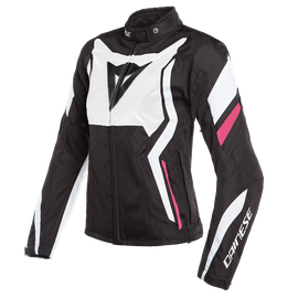 EDGE LADY TEX JACKET BLACK-MATT/WHITE/FUCSIA