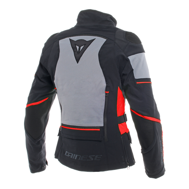CARVE MASTER 2 LADY GORE-TEX JACKET BLACK/FROST-GREY/RED- Made to explore
