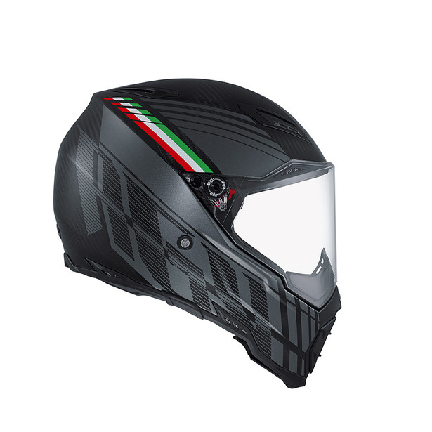 AX-8 NAKED CARBON E2205 MULTI - BLACK FOREST MATT CARBON/GREY/ITALY - Promozioni
