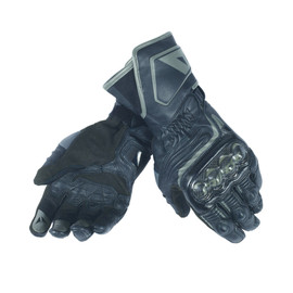 CARBON D1 LONG LADY GLOVES BLACK/BLACK/BLACK- Leder