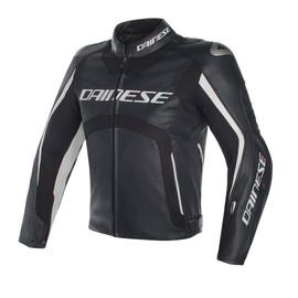Misano D-air® jacket BLACK/BLACK/WHITE