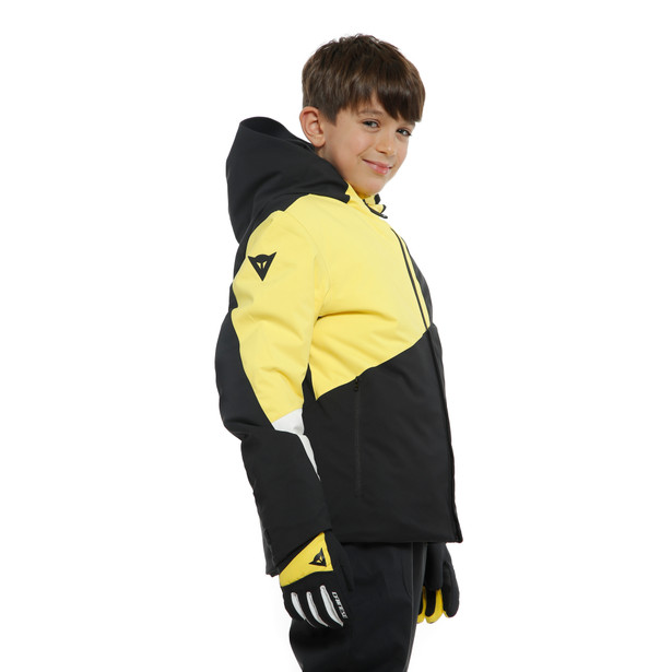 HP FLAKE RIBBO KID BLACK-TAPS/VIBRANT-YELLOW- undefined