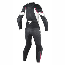 AVRO D2 2 PCS LADY BLACK/WHITE/FUXIA- Deux Pieces