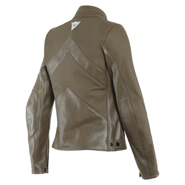 SANTA MONICA LADY LEATHER JACKET LIGHT-BROWN- Women Jackets