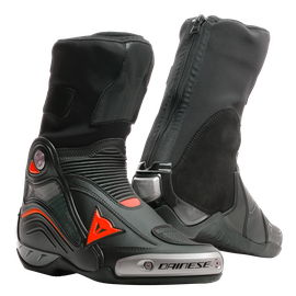 AXIAL D1 BOOTS BLACK/RED-FLUO- Stiefel