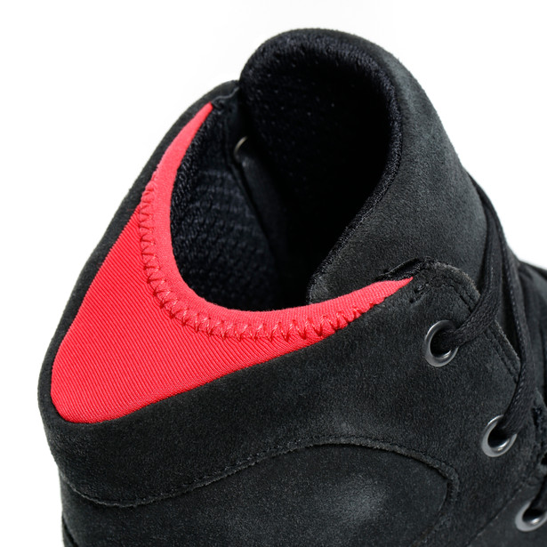 YORK LADY D-WP SHOES DARK-CARBON/RED- D-WP®