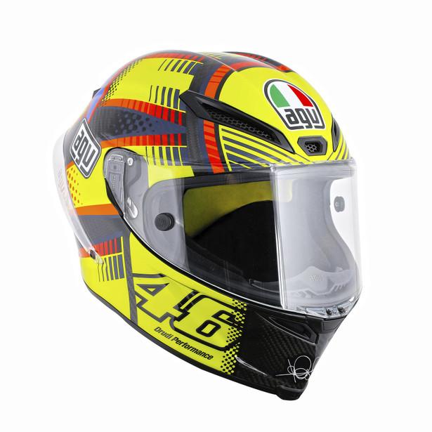 Motorcycle Racing Helmet Gp Track E2205 Top Soleluna Qatar 2015 Agv Helmets Dainese Official Shop