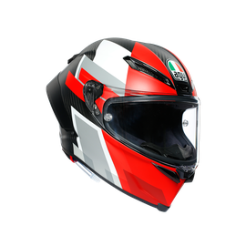 PISTA GP RR ECE DOT MULTI - COMPETIZIONE CARBON/WHITE/RED