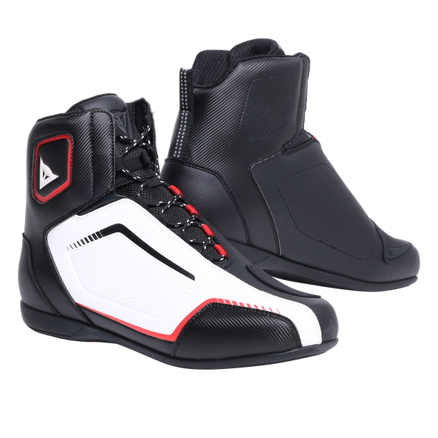 RAPTORS AIR  SHOES BLACK/WHITE/LAVA-RED- Scarpe